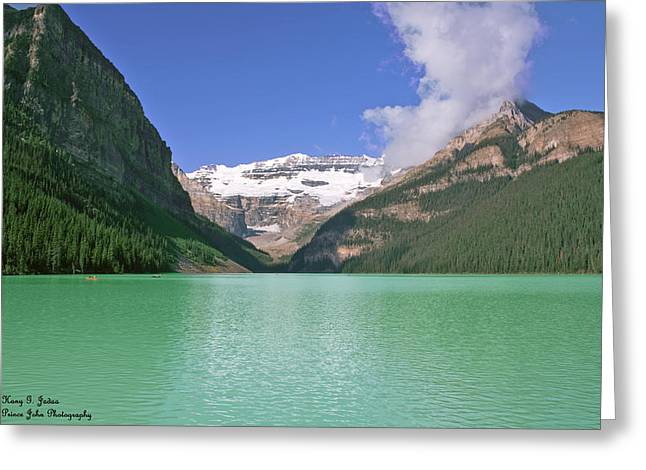 Lake Louise -1 Greeting Card