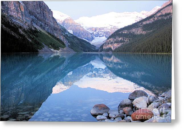 Lake Louise Morning Greeting Card