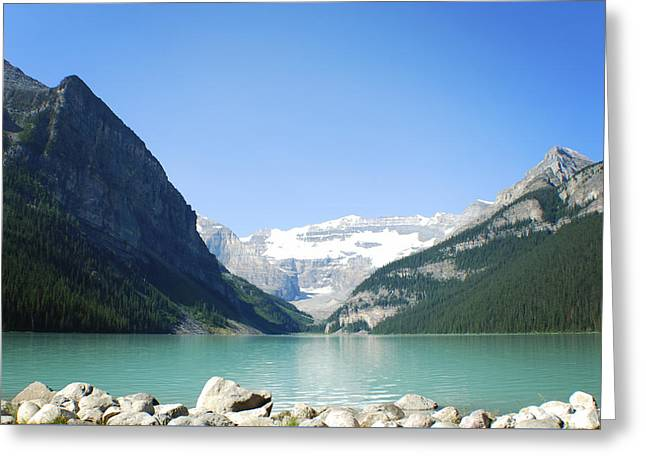 Lake Louise Alberta Canada Greeting Card