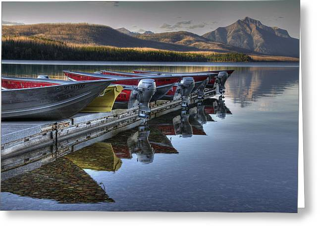 Lake Mcdonald Greeting Card