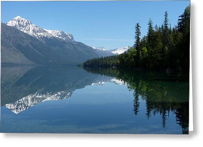 Lake Mcdonald - Glacier National Park Greeting Card by Lucinda Walter