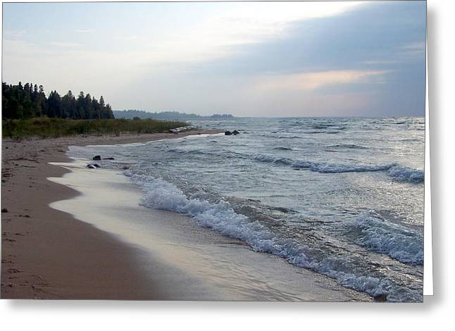 Lake Michigan Greeting Card