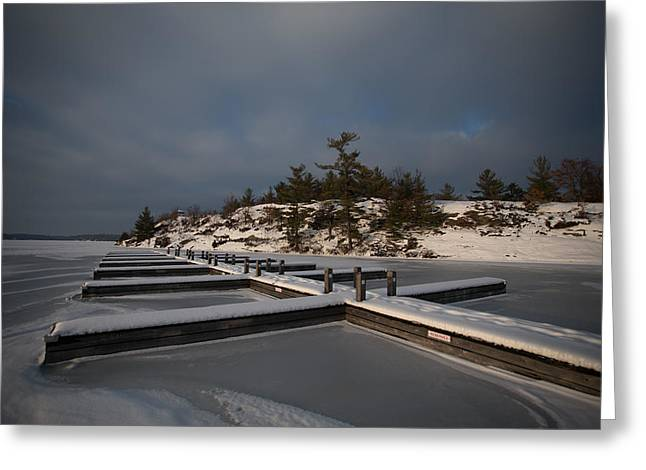 Lake Muskoka Greeting Card