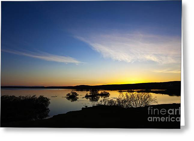 Lake Myvatn Greeting Card