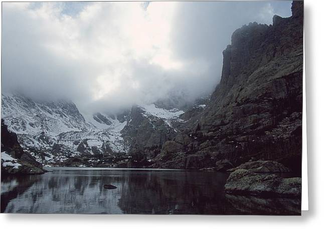 Lake Of Glass Greeting Card by Eric Glaser