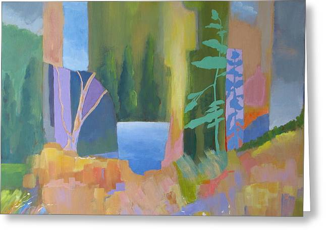 Lake Of The Woods Greeting Card by John Nussbaum