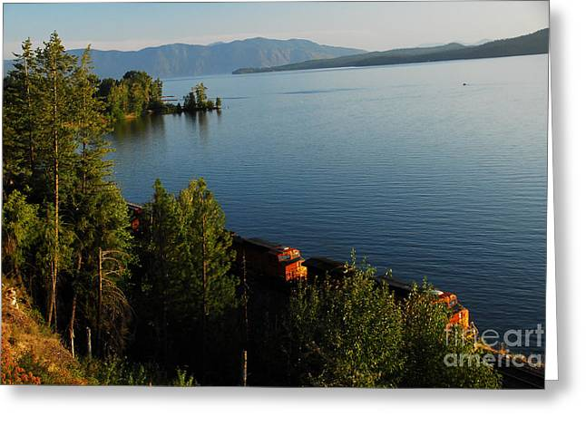 Lake Pend Orielle Greeting Card