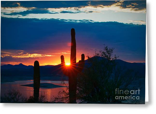 Lake Pleasant Arizona Greeting Card
