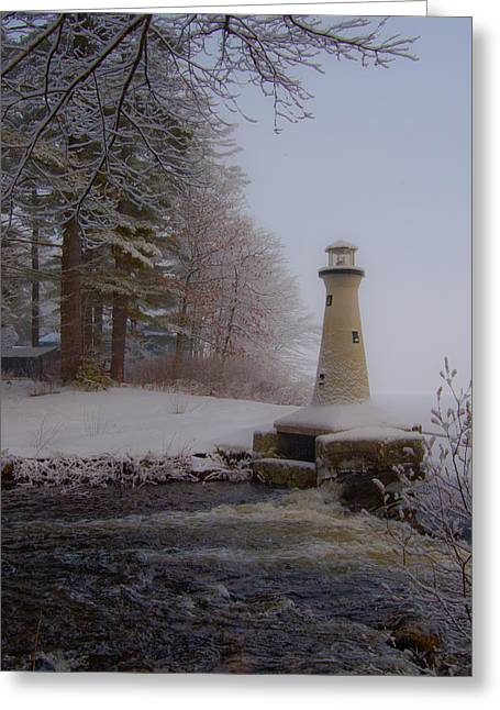 Lake Potanipo Lighthouse Greeting Card