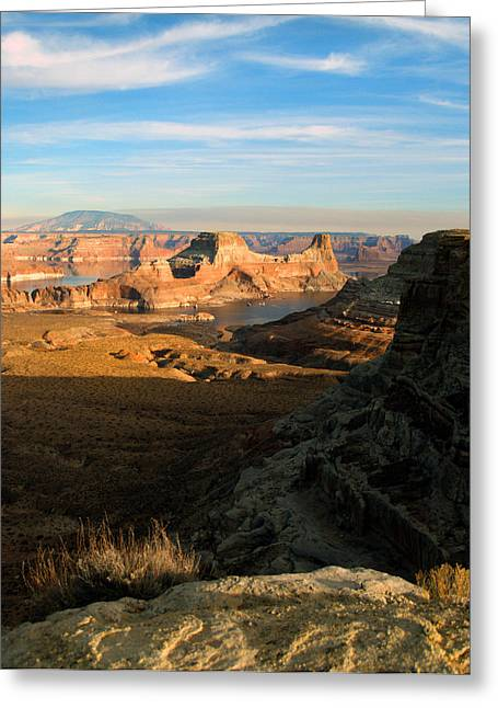 Lake Powell From Alstrum Pt 02 Greeting Card
