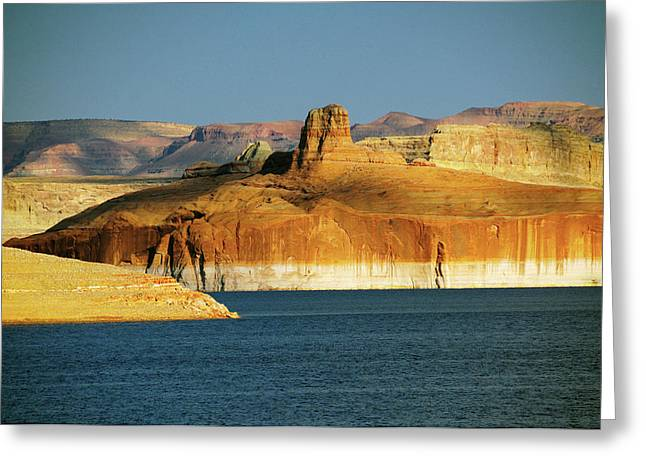 Lake Powell, Glen Canyon National Greeting Card by Michel Hersen