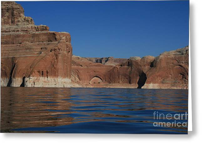 Lake Powell Landscape Greeting Card by Marty Fancy
