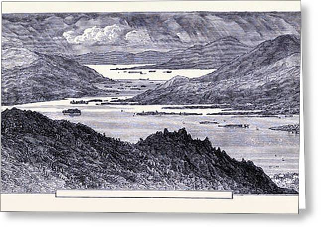 Lake Prospect United States Of America Greeting Card by American School