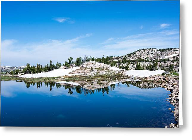 Lake Reflections Greeting Card