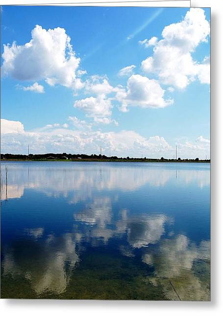 Greeting Card featuring the photograph Lake Sears 000 by Chris Mercer