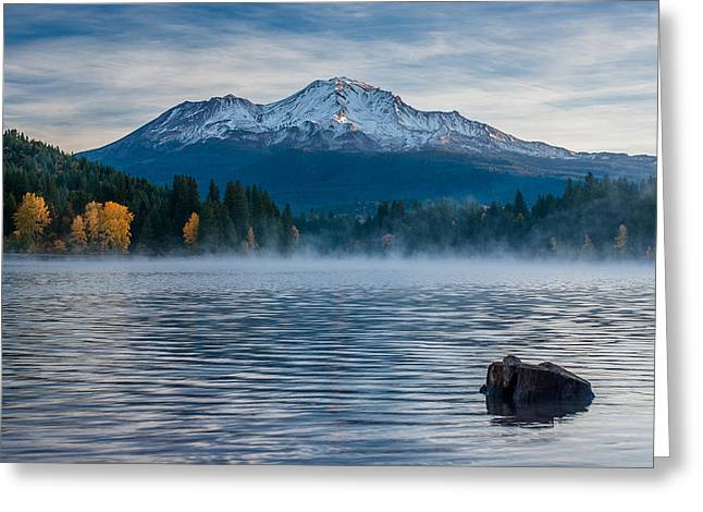 Lake Siskiyou Morning Greeting Card