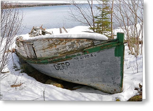 Lake Superior Memories Greeting Card by Sandra Updyke