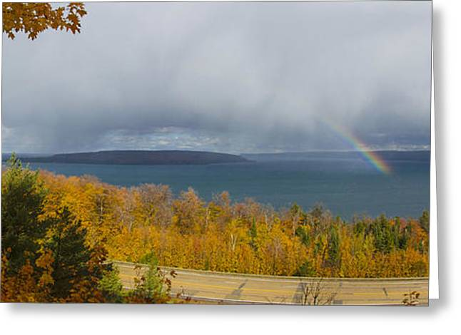 Lake Superior Overlook Greeting Card