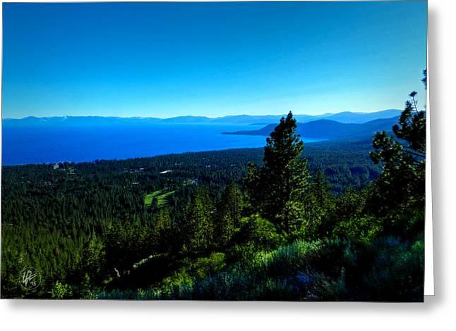 Lake Tahoe 001 Greeting Card by Lance Vaughn