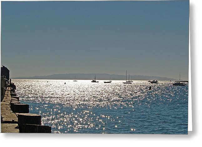 Greeting Card featuring the photograph Lake Tahoe - California by Haleh Mahbod