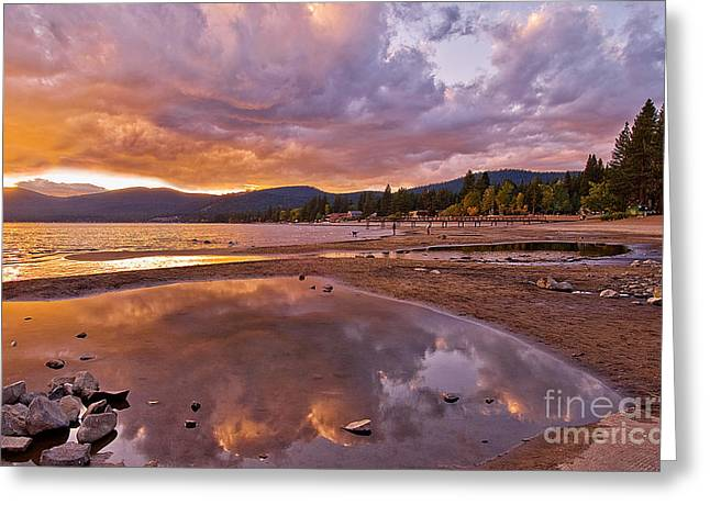 Greeting Card featuring the photograph Lake Tahoe by Mae Wertz