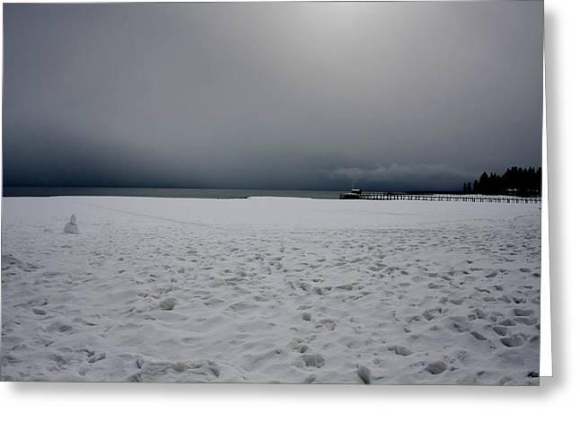 Lake Tahoe Winter Greeting Card