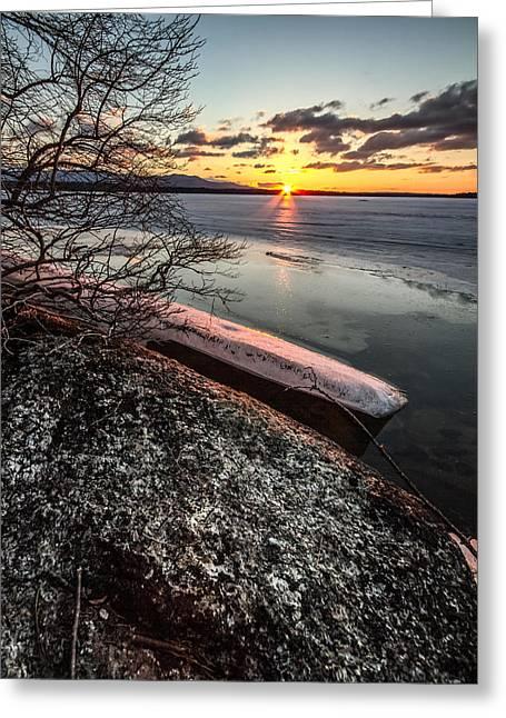 Lake Thaw Greeting Card