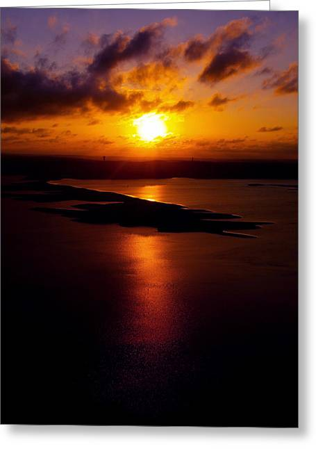 Lake Travis 101112 2 Greeting Card by James Granberry