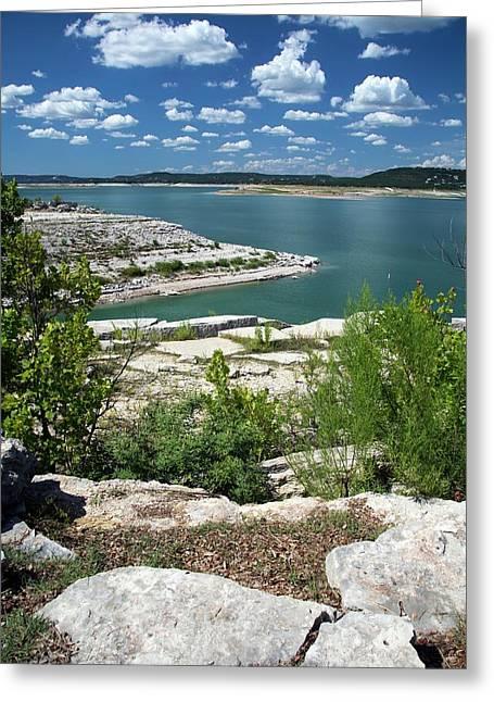 Lake Travis Greeting Card