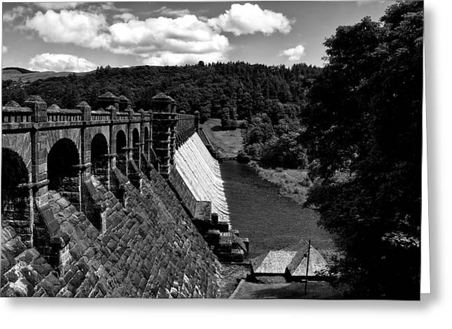 Greeting Card featuring the photograph Lake Vyrnwy Resevoir by Stephen Taylor