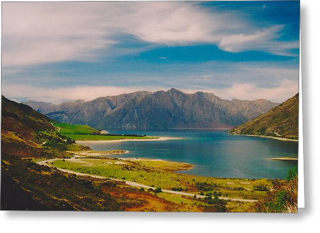 Lake Wanaka Greeting Card