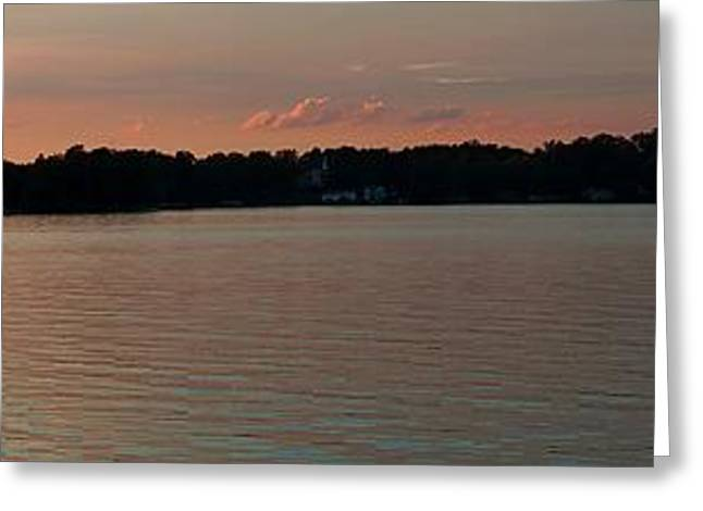 Lake Webster Indiana Greeting Card by Thomas Fouch