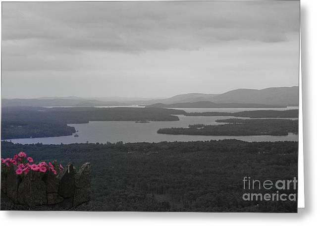 Lake Winnipesaukee      Sold Greeting Card by Marcia Lee Jones
