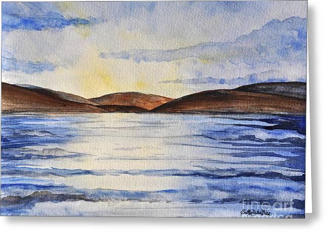 Lake Winnipesaukee Greeting Card by Sally Rice