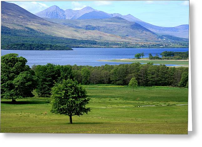 Lakes Of Killarney - Killarney National Park - Ireland Greeting Card