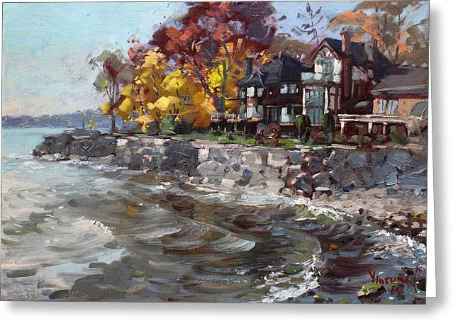 Lakeshore Mississauga Greeting Card