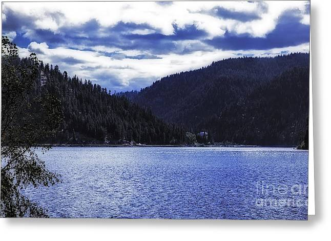 Lakeside Living Greeting Card by Nancy Marie Ricketts