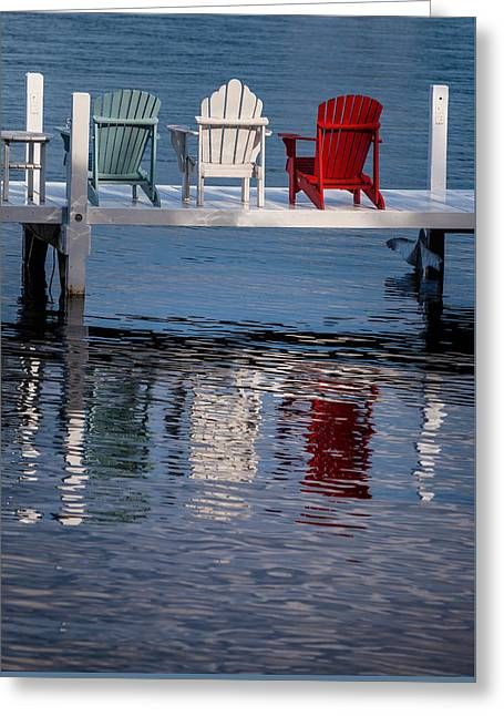 Lakeside Living Number 2 Greeting Card by Steve Gadomski