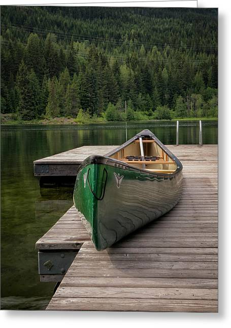 Lakeside Peace Greeting Card