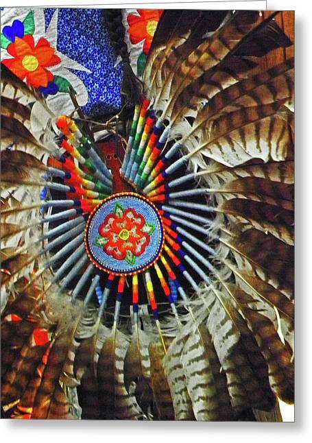 Lakota Feather Dance Greeting Card