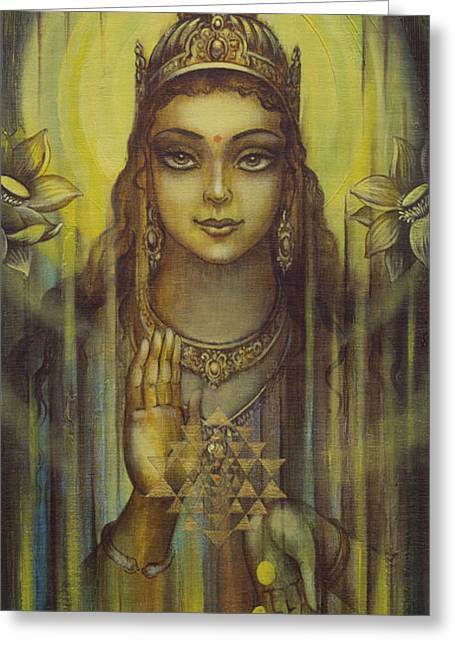 Lakshmi Kripa Greeting Card
