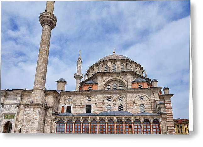 laleli Mosque 02 Greeting Card by Antony McAulay