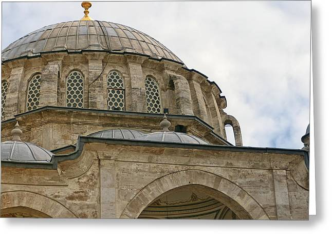 laleli Mosque 03 Greeting Card by Antony McAulay