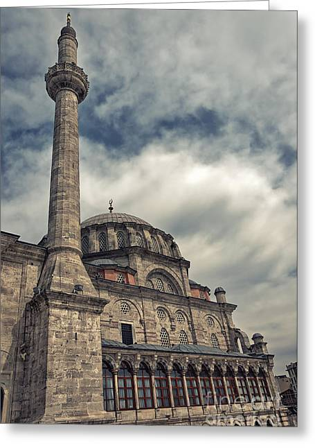 laleli Mosque 06 Greeting Card by Antony McAulay