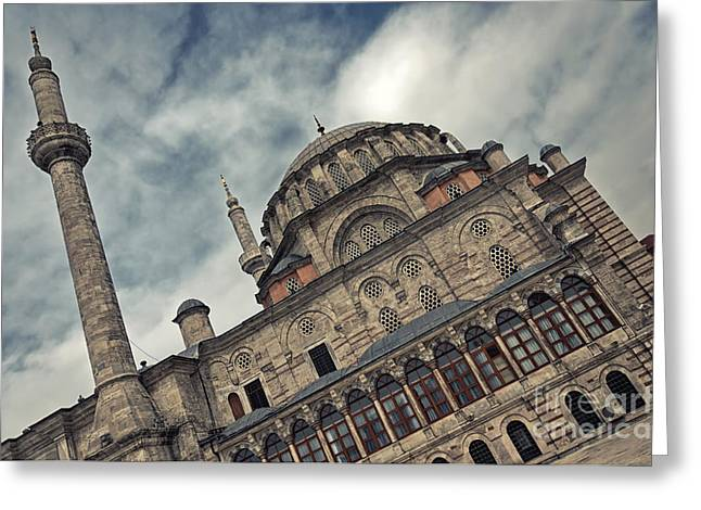 laleli Mosque 08 Greeting Card by Antony McAulay