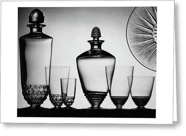 Lalique Glassware Greeting Card