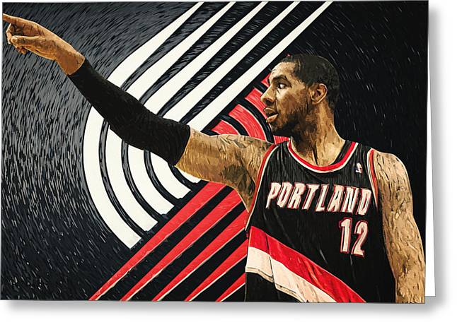 Lamarcus Aldridge Greeting Card