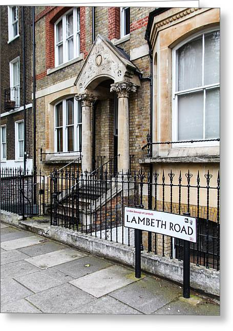 Greeting Card featuring the photograph Lambeth Road by Ross Henton