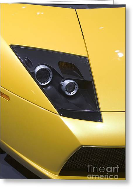 Greeting Card featuring the photograph Lamborghini by Jim West