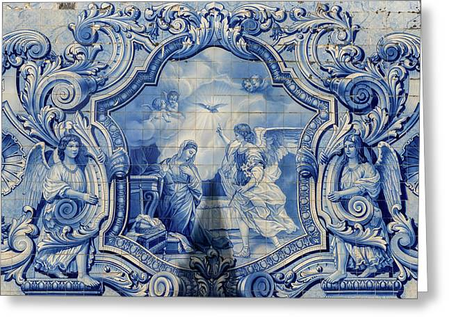 Lamego, Portugal, Shrine Of Our Lady Greeting Card